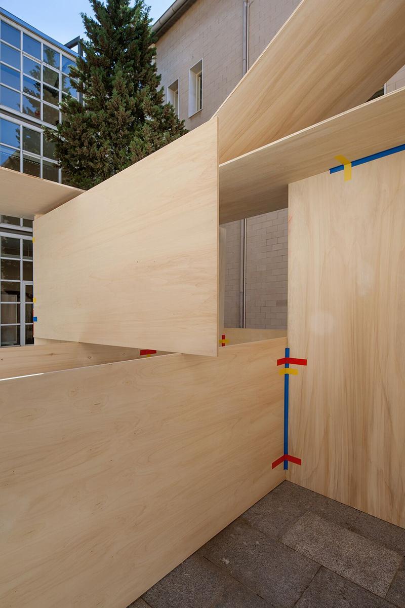 La Chabola, l'installation architecturale inspirée de la kinésithérapie par Jorge Penades