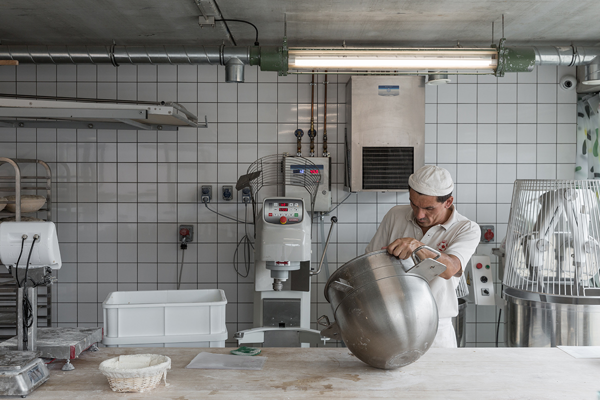 Le concept boulangerie & logements Pain Paulin par le studio ciguë