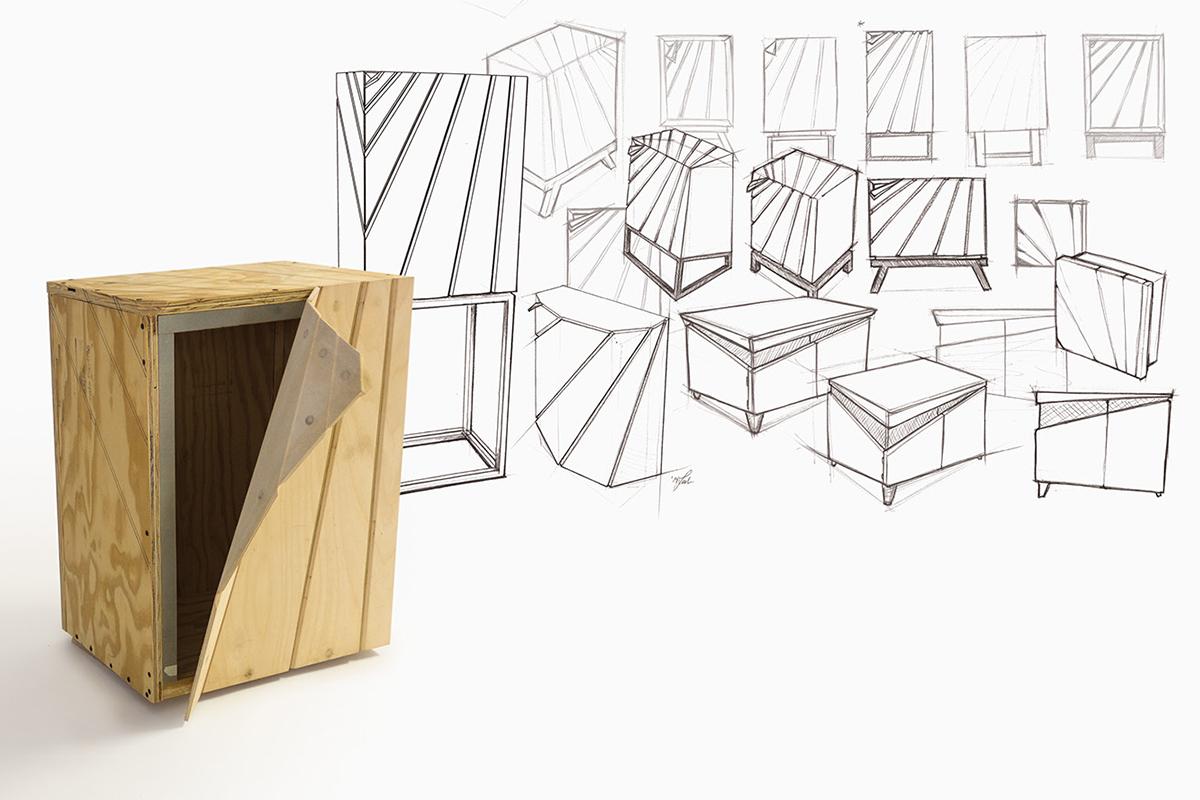 Peel, la collection de mobilier signée Leah Amick