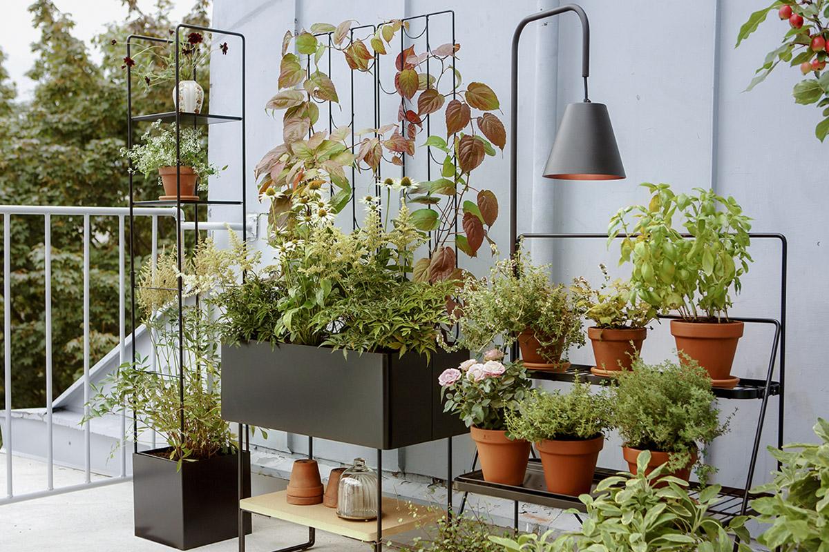 Pentagon Design présente une série versatile de mobilier dédié aux plantes pour Kekkilä