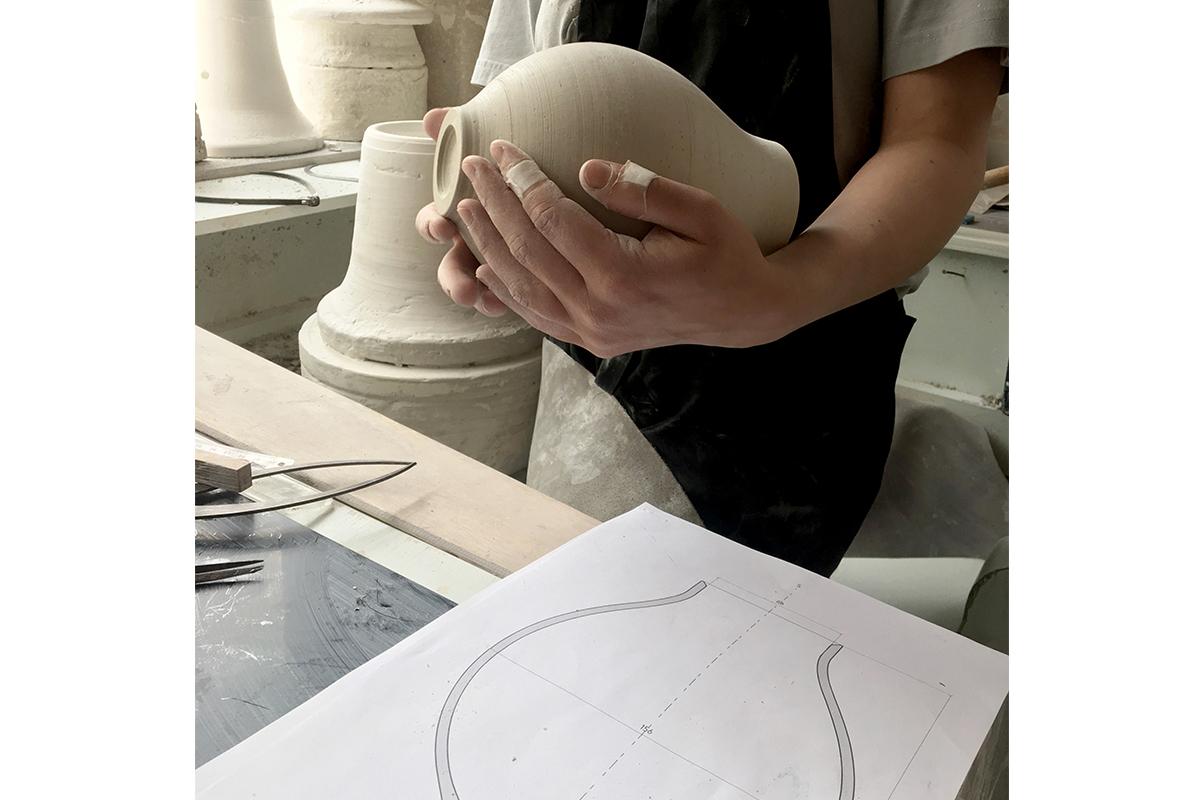 Projet étudiant : Désir d'eau, les carafes de Julie Cocatrix