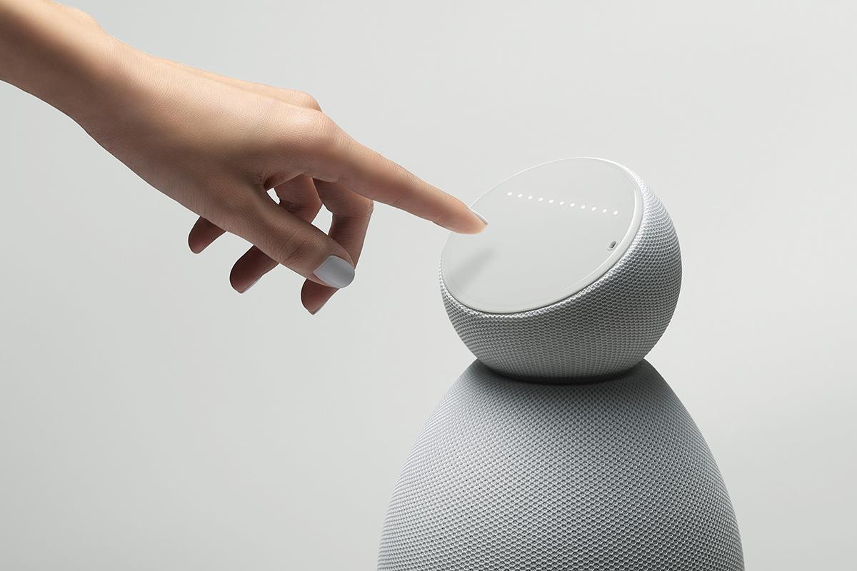 L'enceinte aux allures de robot personnalisée Maybe par Arthur Kenzo