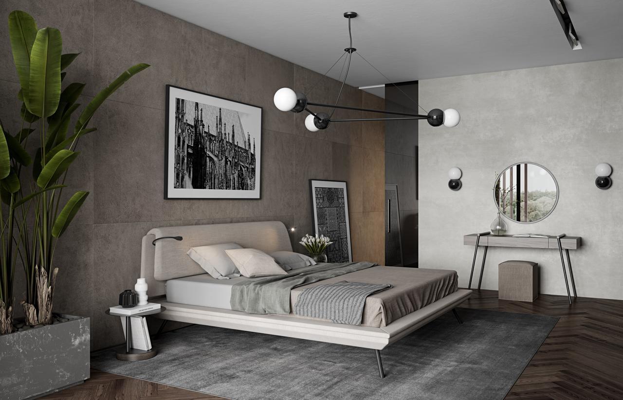 DUOO le lit par Andrey Mohila pour Zegen