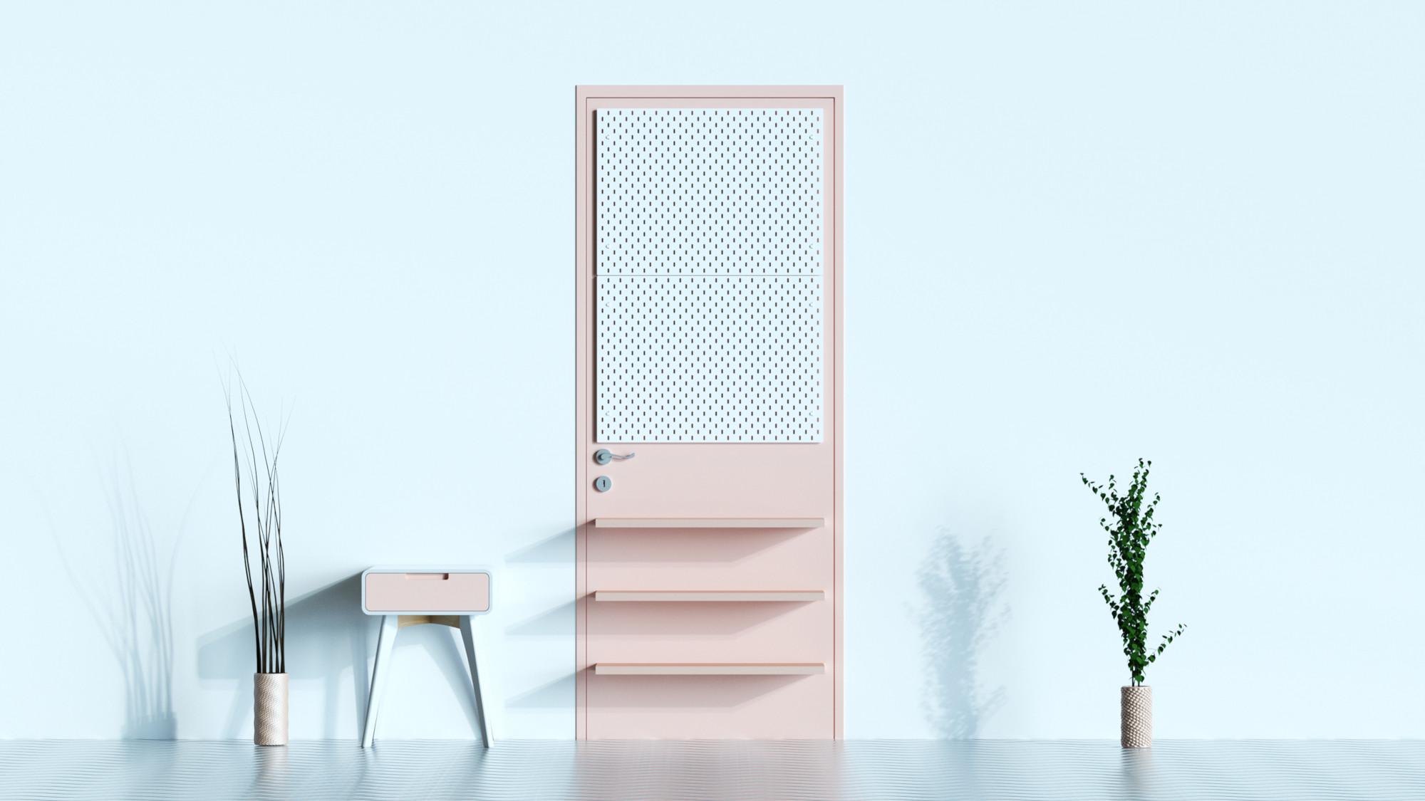 Padoor la porte augmentée par le studio FormX