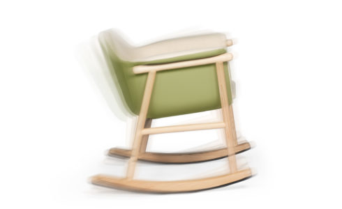 GAGO le rocking chair hommage par DAM