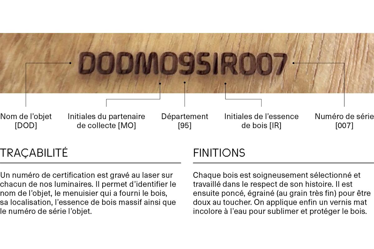 Zoom M&O PARIS - CRAFT : Florent Blanchard présente le luminaire DOD