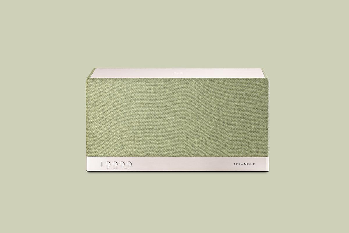 AIO, l'enceinte Audiophile par le Studio Antracite, pour Triangle Electroacoustique