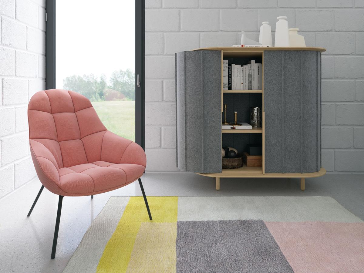 FELT SIDEBOARDS meubles en feutre par Max Voytenko