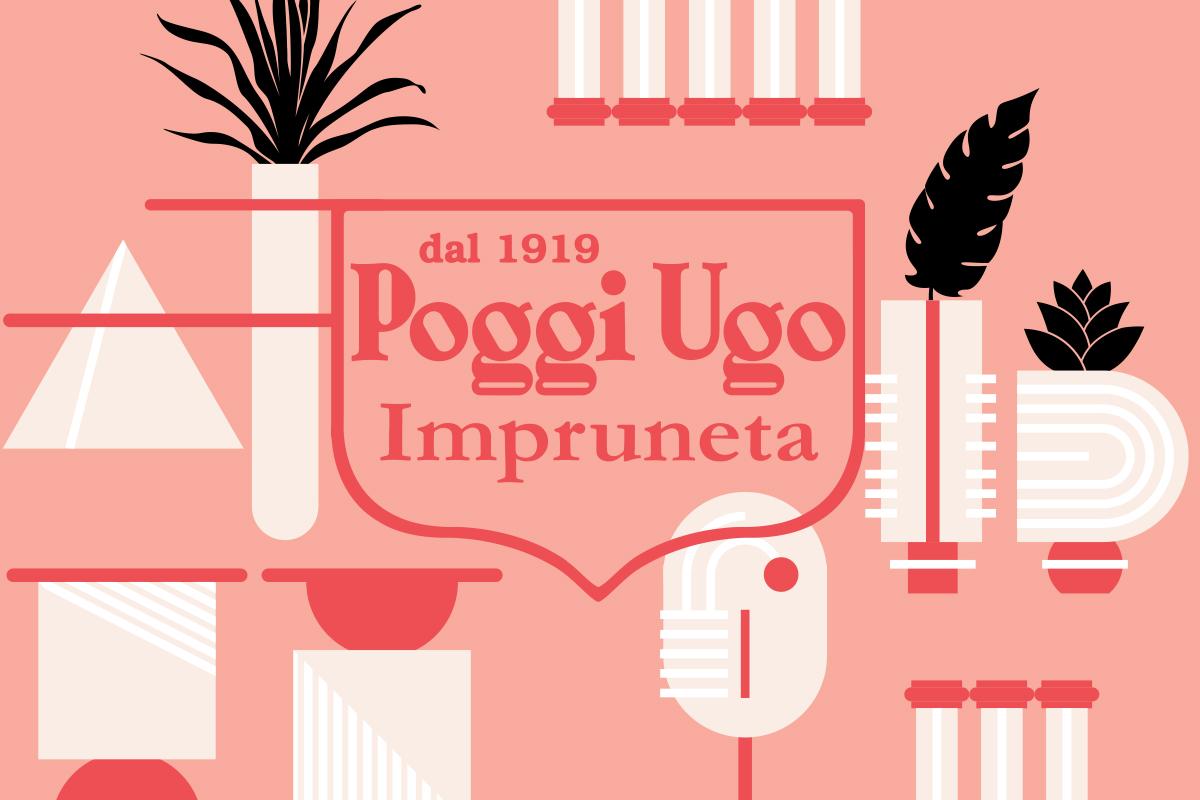 Land, l'installation célébrant les 100 ans de Poggi Ugo organisé par Valentina Guidi Ottobri et signé Masquespacio