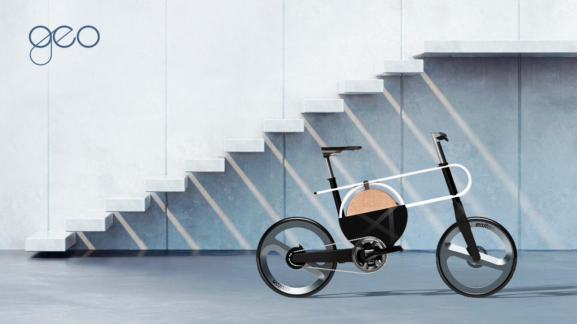 Projet étudiant : Vélo électrique GEO made in Corée