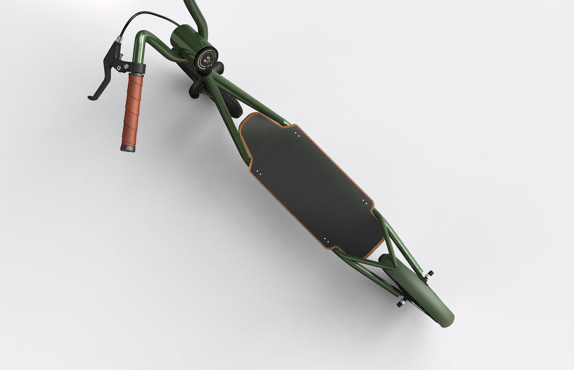 Electric Kickboard la trottinette par SWNA