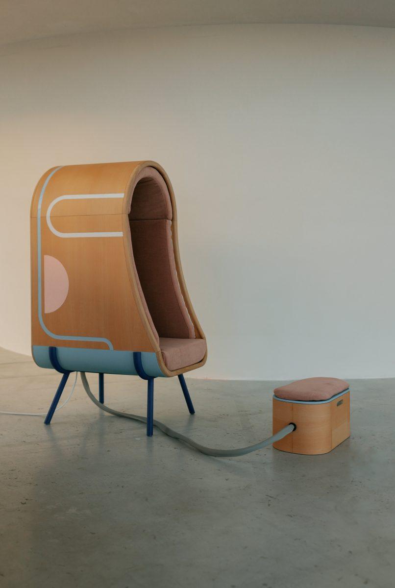 OTO Le fauteuil à étreindre par Alexia Audrain