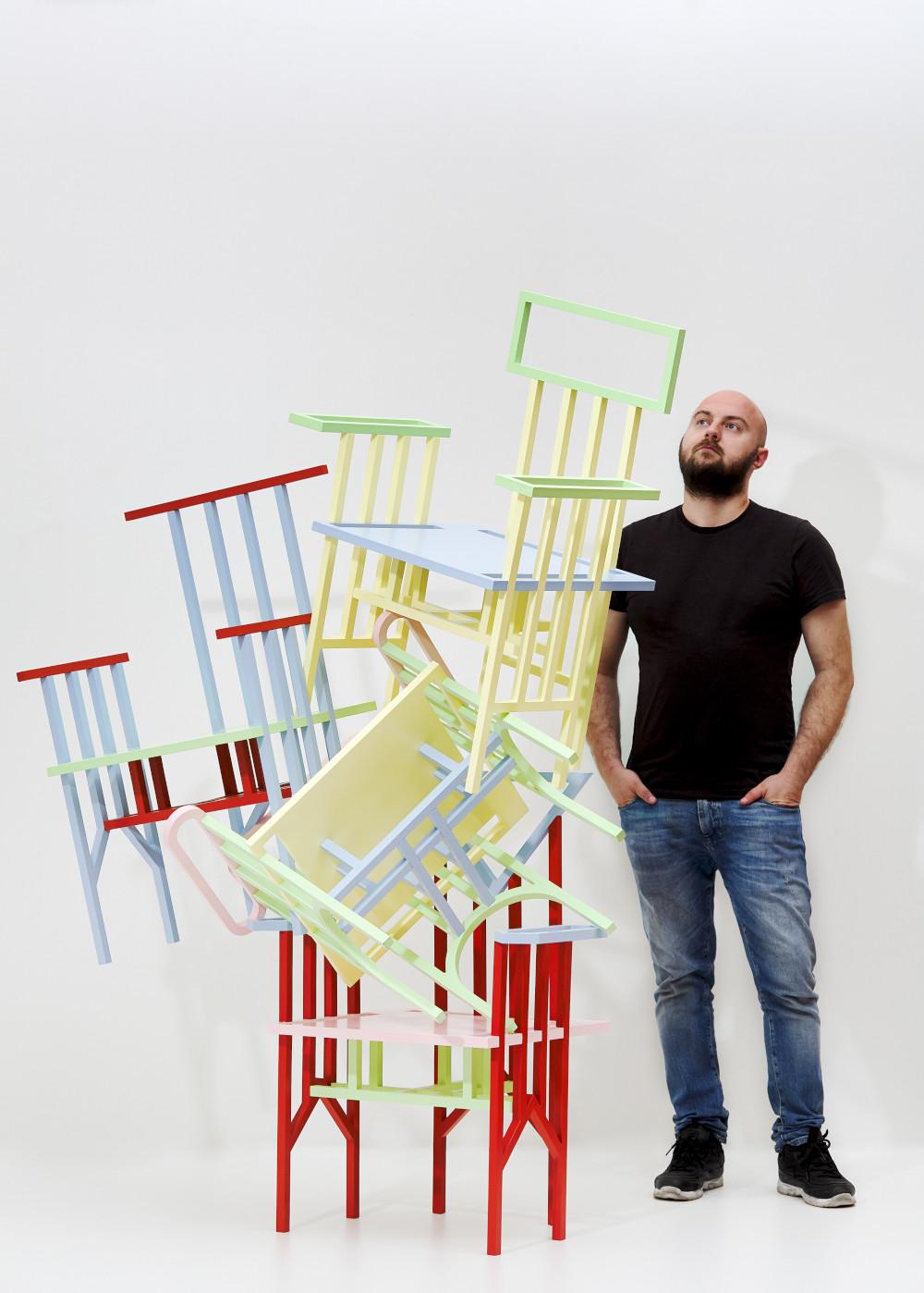 Abstract Chair par Egor Bondarenko