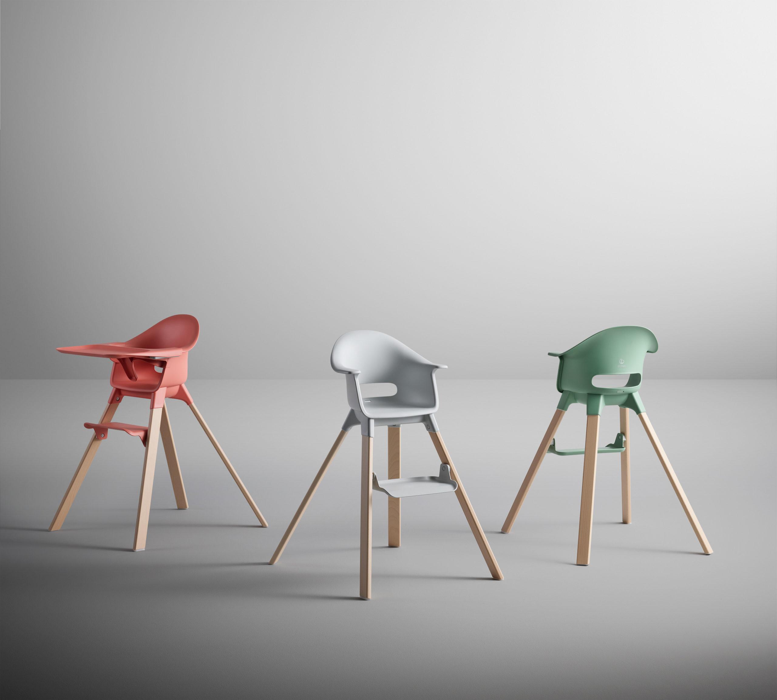 Stokke Clikk la chaise haute par le studio Permafrost